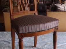 restauration, fabrication de chaises tout styles