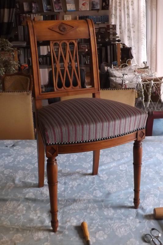 restauration de chaise directoire