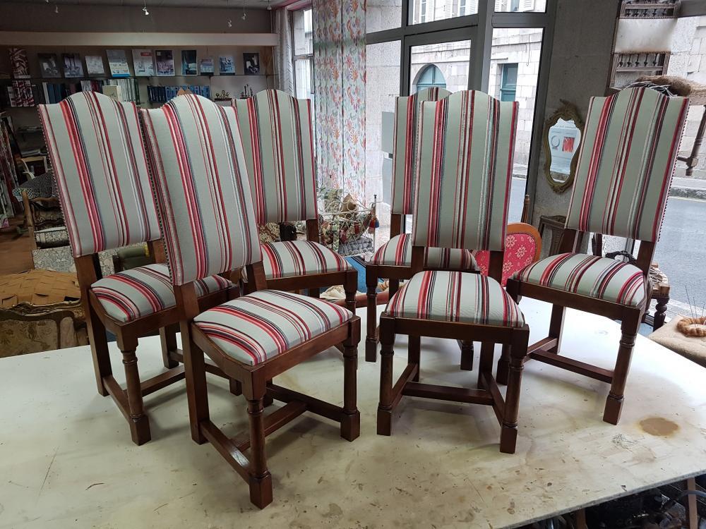 restauration chaise tapissier ameublement tissu decoration decorateur ollivier paimpol treguier lannion guingamp cotes d'armor bretagne