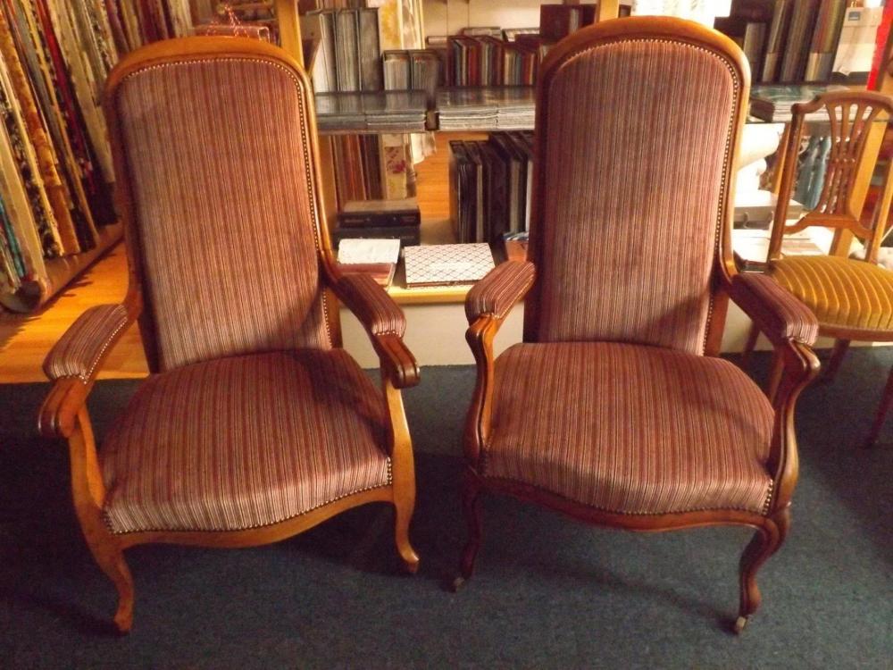 paire de fauteuil