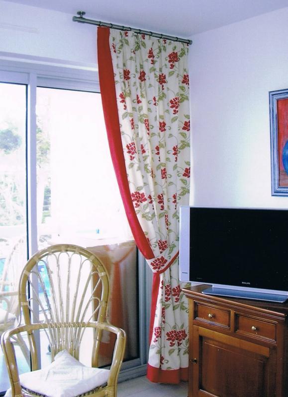 confection rideau décoratif