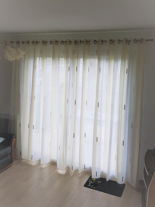 confection rideaux voilage à oeillets tissu tapissier decorateur ollivier treguier paimpol lannion perros guirec guingamp cotes d armor