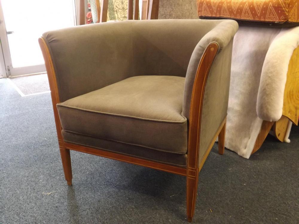 restauration d'un fauteuil Davis