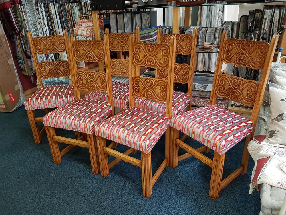 restauration de chaise style breton, debut XXeme