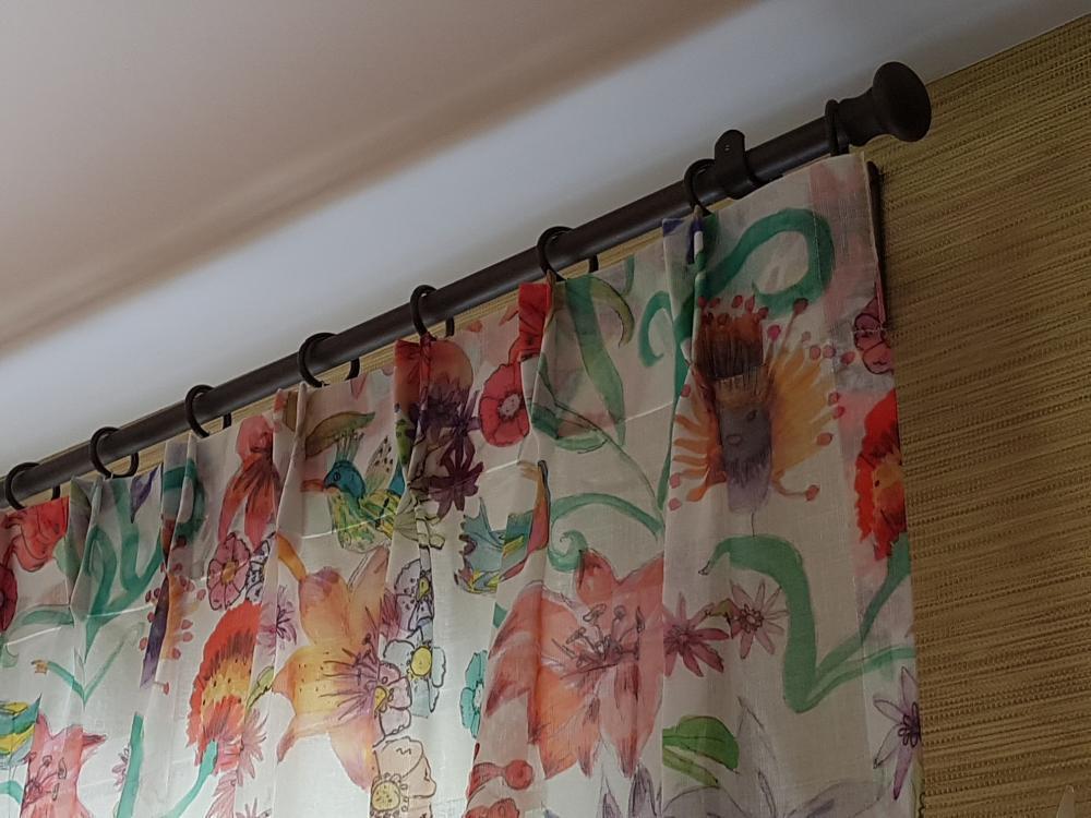 confection double rideaux tissu voilage tapissier decorateur ollivier treguier paimpol lannion guingamp perros guirrec cotes d armor