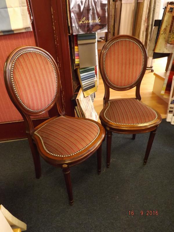 restauration de chaise style anglaise